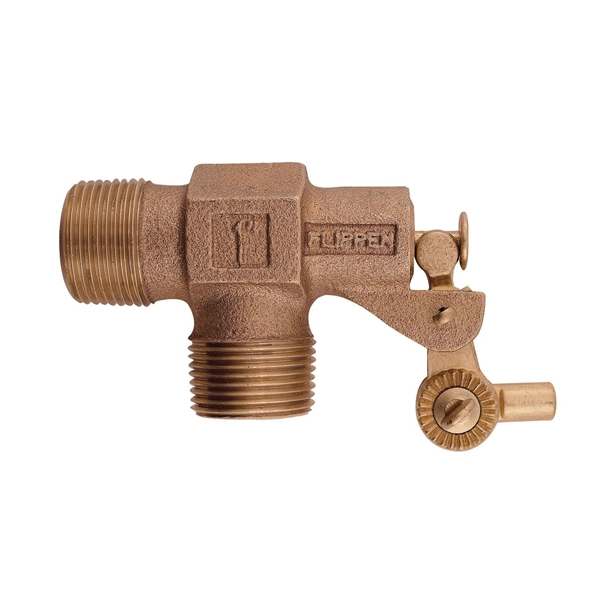 Picture of Watts ST1000 Mechanical Float Valve, 1 in, FNPT, 1/4-20 Rod, 1 in L Rod, Bronze Body
