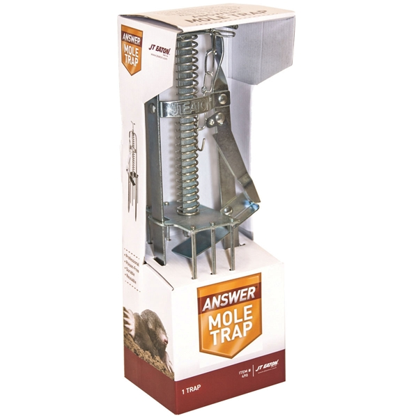 Picture of J.T. EATON 490 Mechanical Mole Trap, 6-1/4 in W, 2-7/8 in H
