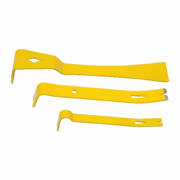 Picture of STANLEY STHT55135 Pry Bar Set, 3 -Piece, HCS, Yellow, Powder-Coated