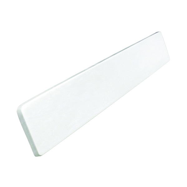 Picture of Foremost WS22R Sidesplash, 22 in OAL, 3-1/2 in OAW, 3/4 in OAH, Marble, Solid White