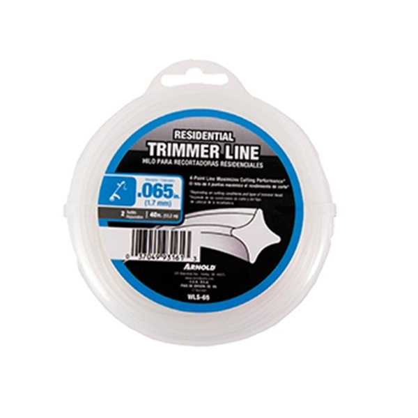 Picture of ARNOLD WLS-65 Trimmer Line, 0.065 in Dia, 40 ft L, Nylon