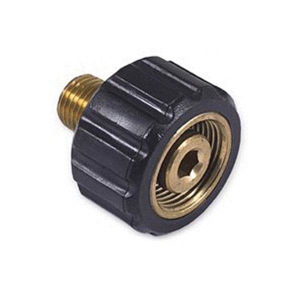 Picture of Mi-T-M AW-0023-0487 Screw Coupler, 1/4 in Connection, MNPT x M22