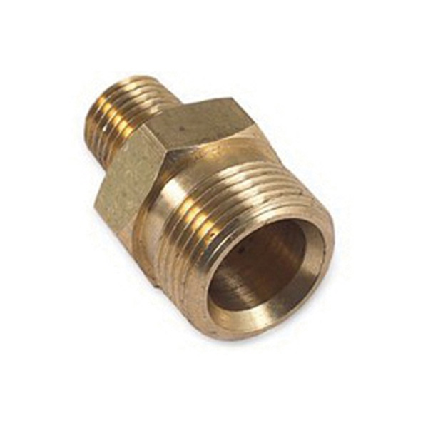 Picture of Mi-T-M AW-0023-0491 Screw Nipple, 1/4 in Connection, MNPT x M22