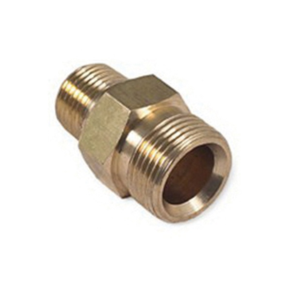 Picture of Mi-T-M AW-0023-0493 Screw Nipple, 3/8 in Connection, MNPT x M22