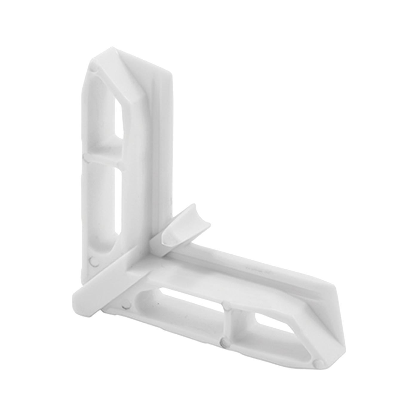Picture of Make-2-Fit PL 15758 Screen Frame Corner, Plastic, White, For: Andersen Screen Frames, 20, Tub