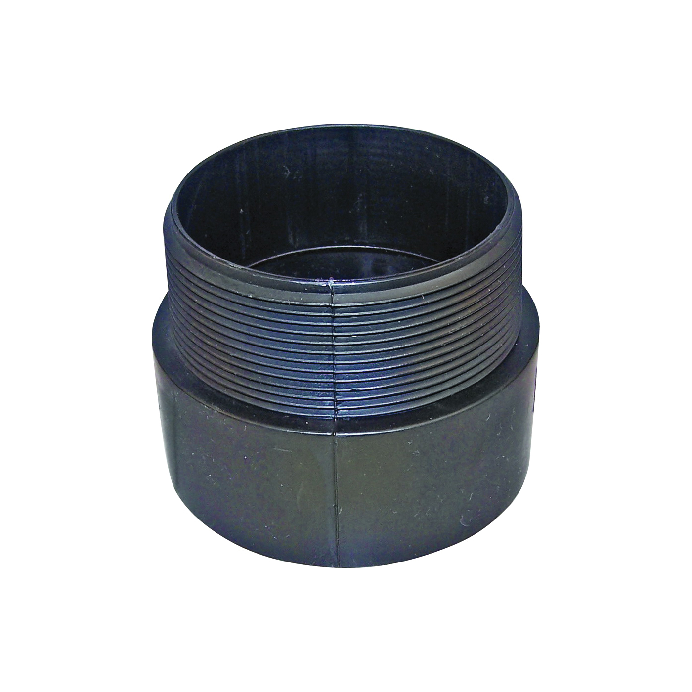 Picture of GENOVA 800 80415 Pipe Adapter, 1-1/2 in, Hub x MIP, ABS, SCH 40 Schedule