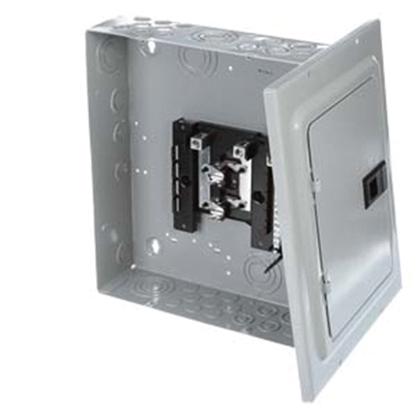 Picture of Siemens Murray LC008DSU Load Center, 125 A, 8-Space, 16-Circuit, Main Lug, NEMA 1 Enclosure, Surface Mounting