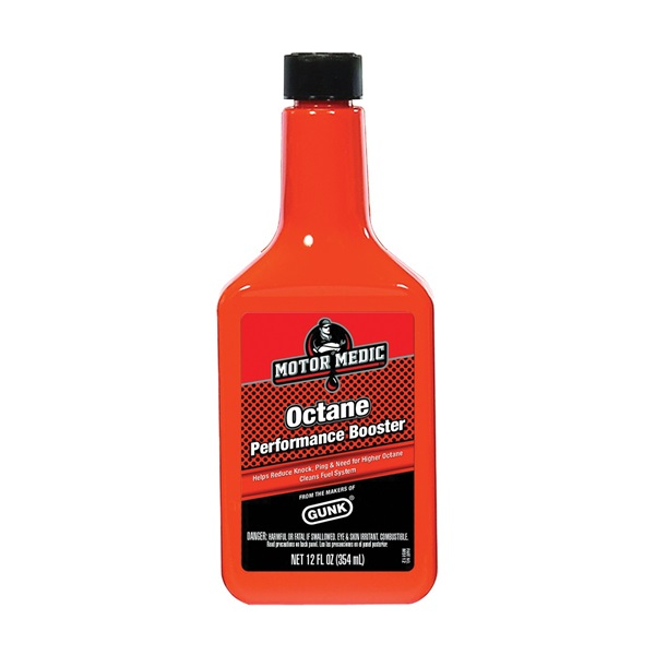 Picture of GUNK M5112 Octane Performance Booster Red, 12 oz Package, Bottle