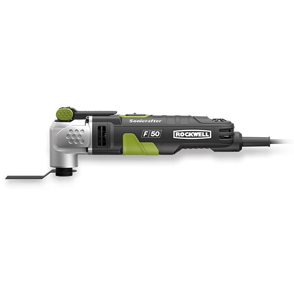 Picture of ROCKWELL Sonicrafter RK5142K Oscillating Multi-Tool, 120 V, 4 A, 11,000 to 20,000 opm Speed