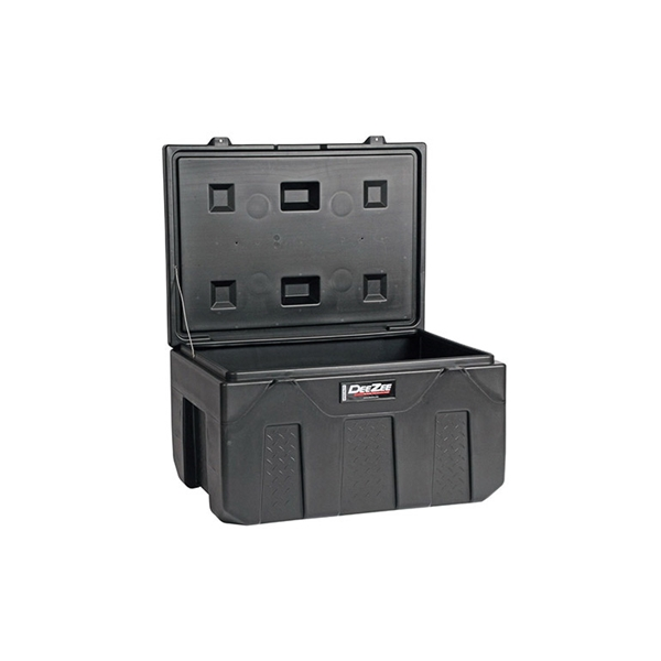 Picture of DEE ZEE DZ6537P Storage Chest, 10.4 cu-ft, 39 in L, 27 in W, 17 in H, Poly, Black