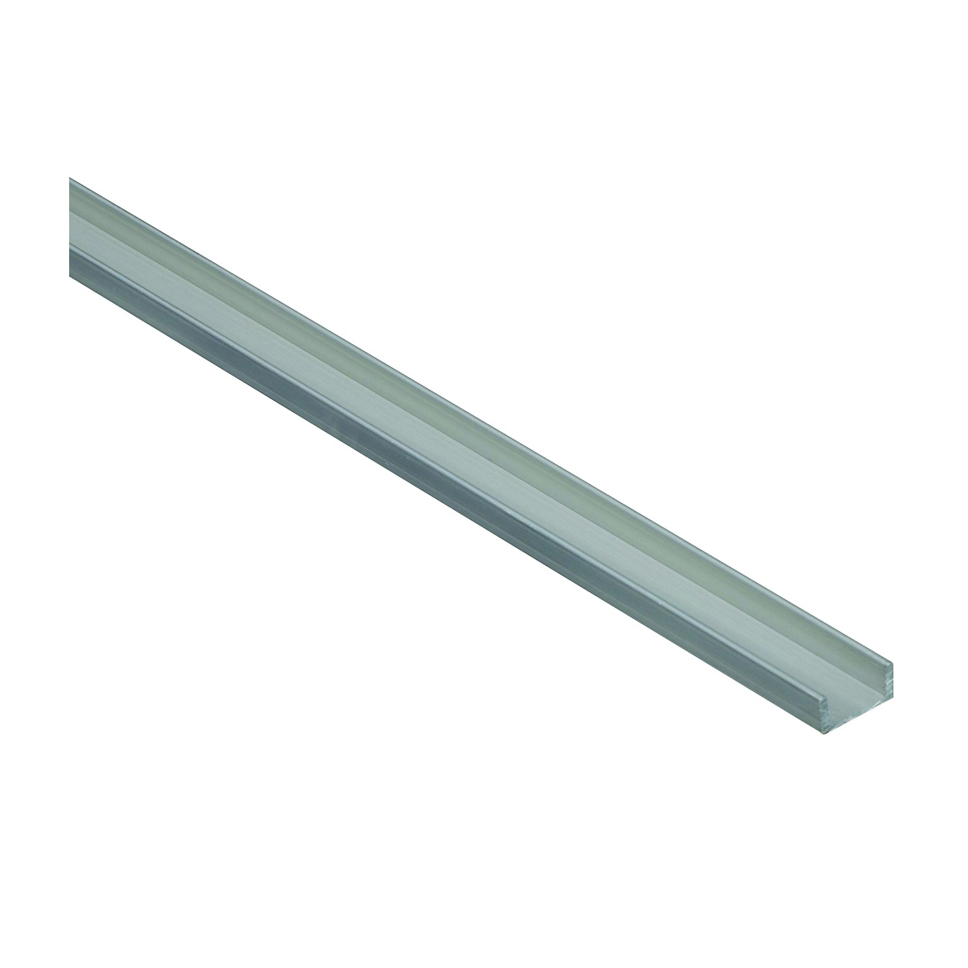 Picture of Stanley Hardware 4208BC Series 258541 Channel, 96 in L, 1/16 in Thick, Aluminum, Mill