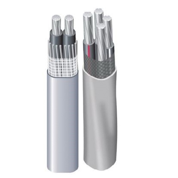 Picture of Southwire SEU Series 4/ 4/0 4/0X100 Service Entrance Cable, 3-Conductor, Aluminum Conductor, PVC Insulation, 600 V