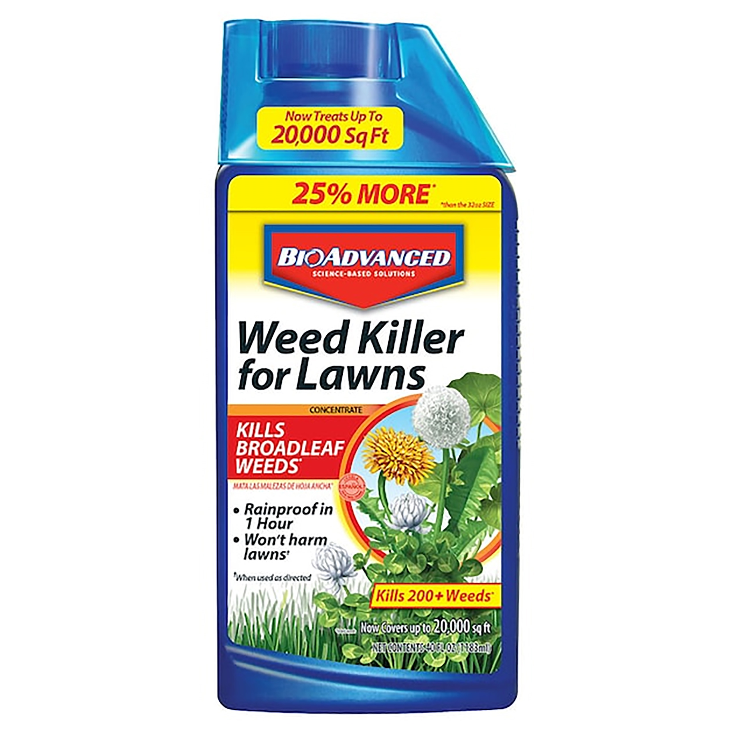 Picture of BioAdvanced 704160A Weed Killer, Spray Application, 32 oz Package