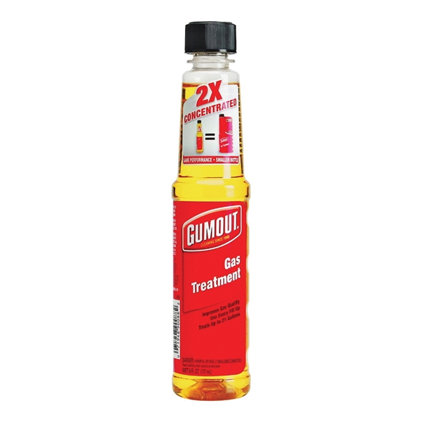 Picture of Gumout 510018 Gas Treatment Yellow, 6 oz Package, Bottle