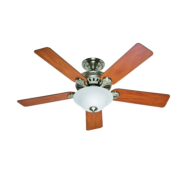 Picture of Hunter 53249/28723 Ceiling Fan, 5-Blade, 52 in Sweep, 5203 cfm Air