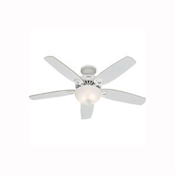 Picture of Hunter 53089 Ceiling Fan, 0.52 A, 120 V, 5-Blade, 52 in Sweep, 5110 cfm Air