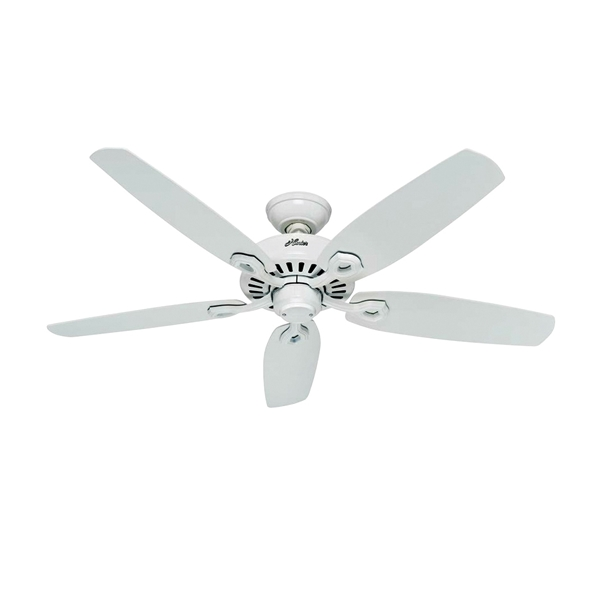Picture of Hunter 53240 Ceiling Fan, 0.41 A, 120 V, 5-Blade, 52 in Sweep, 5049 cfm Air, Metal Housing Material