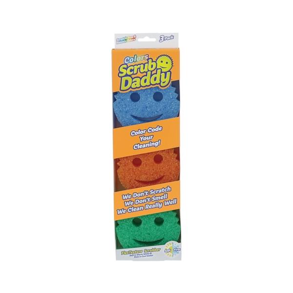 Picture of Scrub Daddy SDC3CTX12 Scrub Sponge, Foam