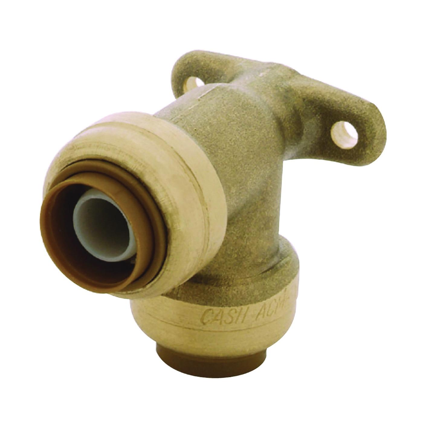 Picture of SharkBite U249LFA Tube Elbow, 1/2 in, 90 deg Angle, Brass, 200 psi Pressure