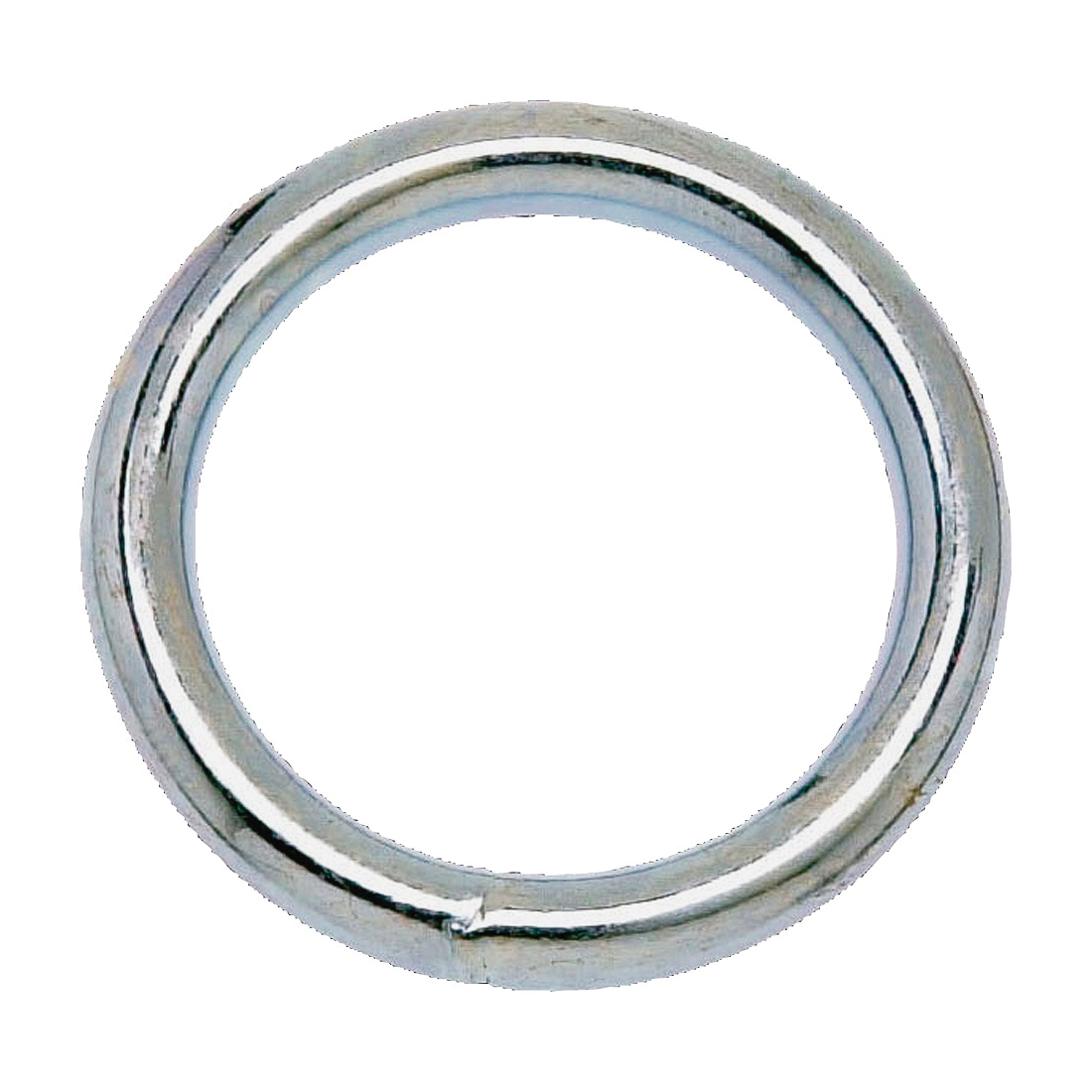 Picture of Campbell T7665012 Welded Ring, 200 lb Working Load, 1 in ID Dia Ring, #7 Chain, Steel, Nickel
