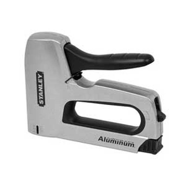 Picture of STANLEY SharpShooter TR150HL Heavy-Duty Staple Gun, 84 Magazine, Narrow Crown, T50 Staple, 27/64 in W Crown