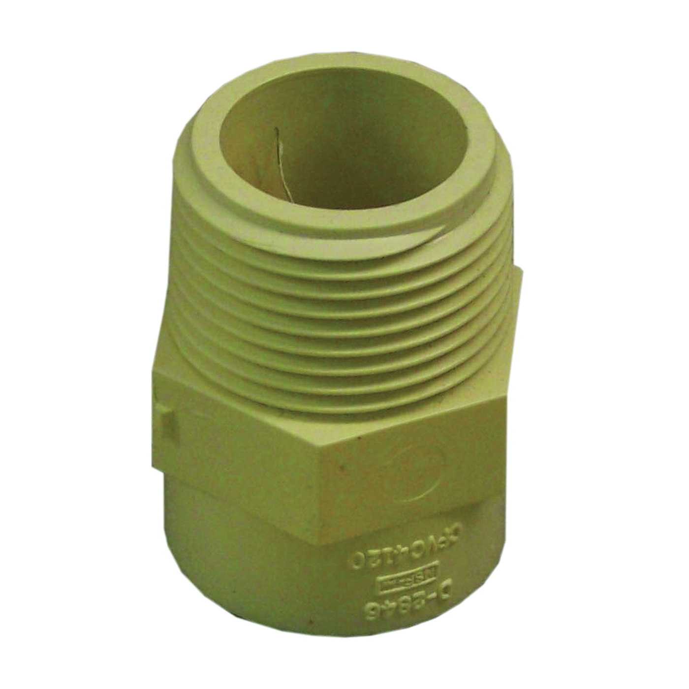 Picture of GENOVA 500 50410 Male Adapter, 1 in, MIP x Slip, CPVC, 100 psi Pressure