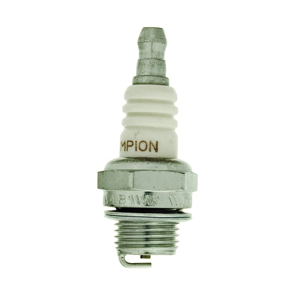Picture of Champion CJ8Y Spark Plug, 0.0236 to 0.0276 in Fill Gap, 0.551 in Thread, 3/4 in Hex, Copper