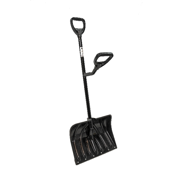 Picture of ERGIESYSTEMS SNW101 Snow Shovel, 13-1/2 in W Blade, 18 in L Blade, Combination Blade, Steel Handle