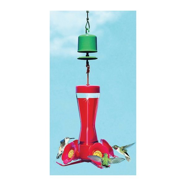 Picture of Perky-Pet 245L Ant Guard, Red, For: Hummingbird Feeder