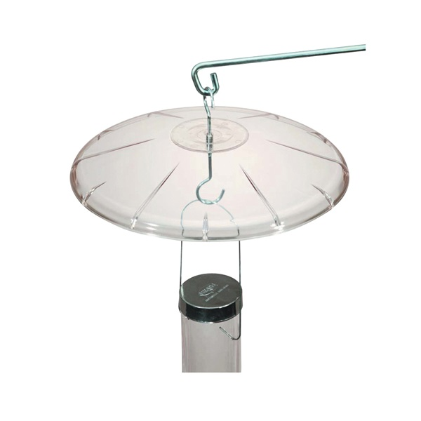 Picture of HEATH HB-1 Squirrel Baffle, Polycarbonate, For: Hanging Bird Feeder