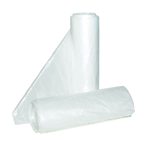 Picture of ALUF PLASTICS Hi-Lene HC HC-242406C Can Liner, 7 to 10 gal Capacity, Polyethylene, Clear