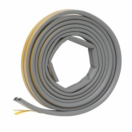 Picture of Frost King V25GA Weatherseal, 5/16 in W, 17 ft L, EPDM Rubber, Gray
