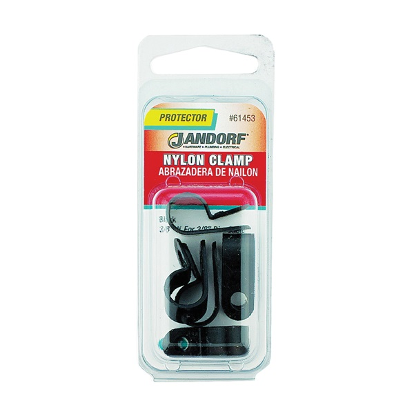 Picture of Jandorf 61453 Cable Clamp, Nylon, Black