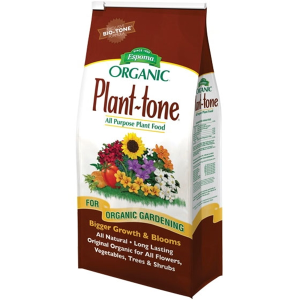 Picture of ESPOMA Plant-Tone PT4 Plant Food, Granular, 4 lb Package, Bag