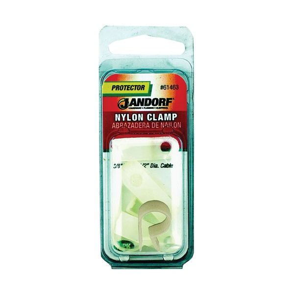 Picture of Jandorf 61463 Cable Clamp, Nylon, Natural