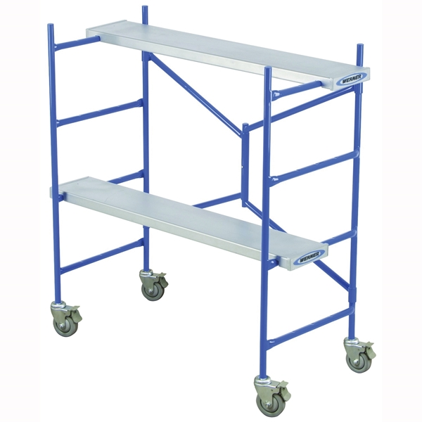 Picture of WERNER PS-48 Portable Rolling Scaffold, 12 to 36 in H Adjustment, 500 lb