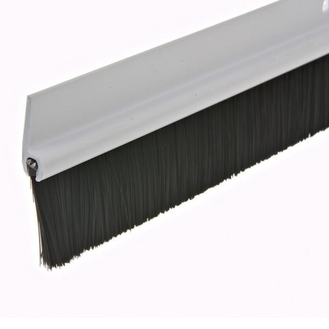Picture of Frost King C35PH Door Sweep, 36 in L, 1-3/4 in W, Plastic Flange