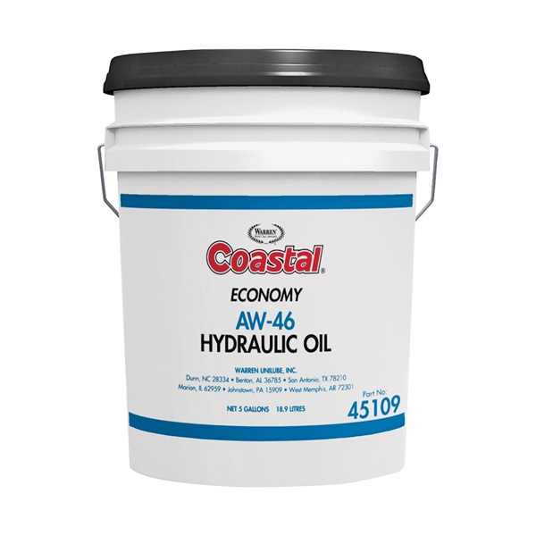 Picture of Coastal 45109 Hydraulic Oil, 5 gal Package