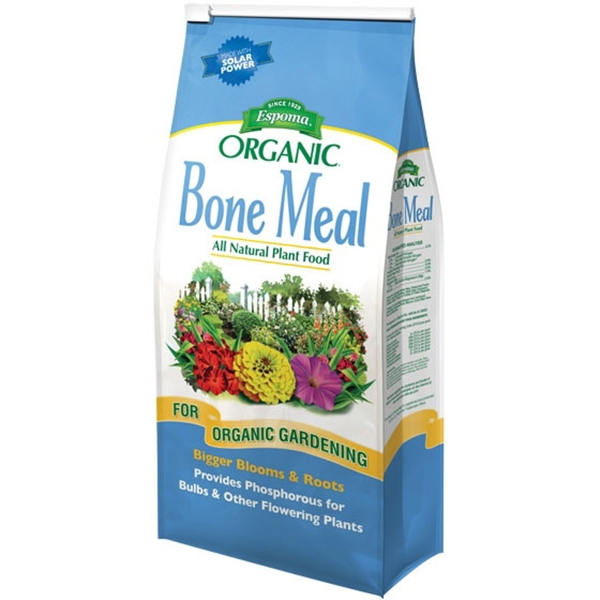 Picture of ESPOMA Bone Meal BM24 Plant Food, Granular, 24 lb Package, Bag