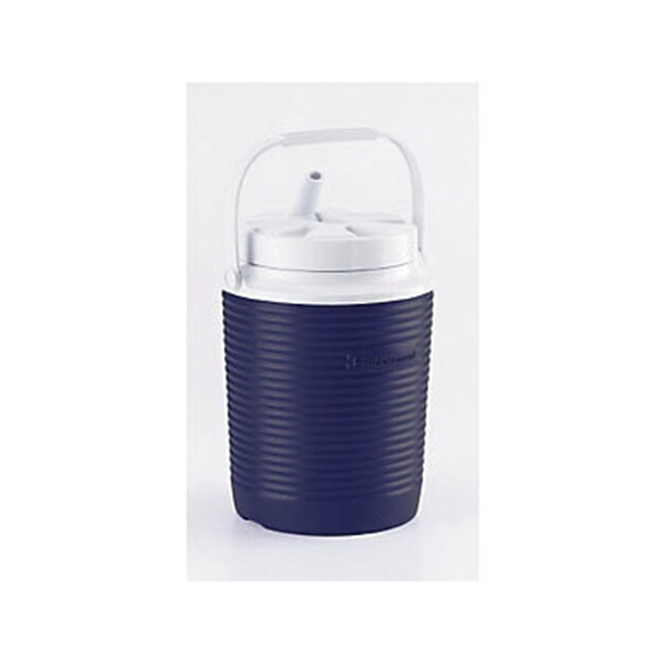 Picture of Rubbermaid Victory FG156006MODBL Jug, 1 gal Capacity, Polyethylene, Blue