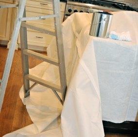 Picture of Trimaco SUPERTUFF Double Guard 02601 Drop Cloth, 12 ft L, 8 ft W, Paper, White