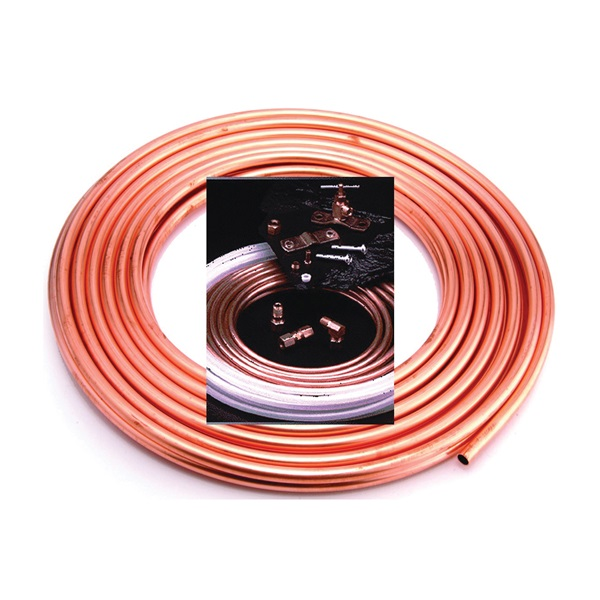 Picture of Anderson Metals 760004 Ice Maker Kit, Copper, For: Evaporative Coolers, Humidifiers, Icemakers