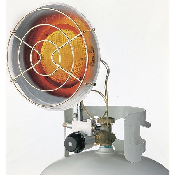 Picture of Dura Heat TT-15S/CSA Single Tank Top Heater, 8-1/4 in W, 11-1/2 in H, 9000, 12,000, 15,000 Btu Heating, Steel