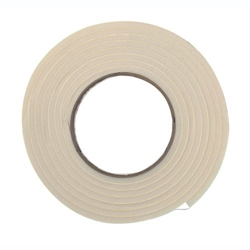Picture of Frost King R534WH Foam Tape, 3/4 in W, 10 ft L, 5/16 in Thick, Rubber, White