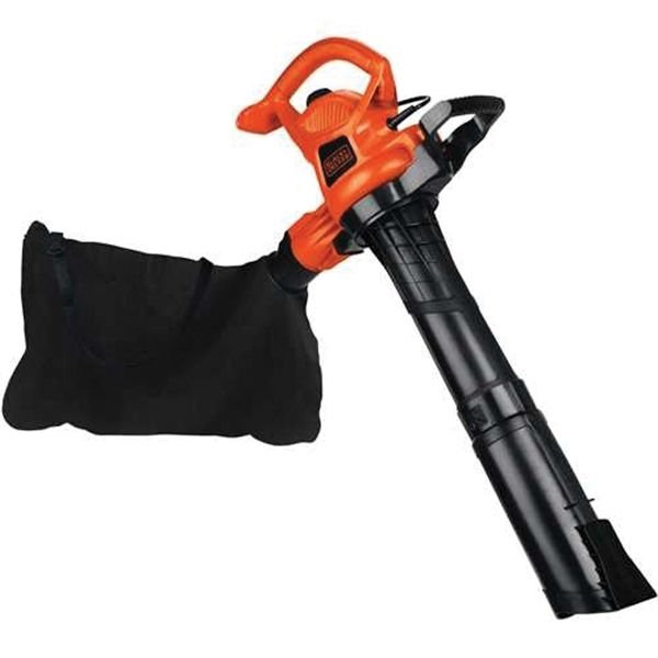 Picture of Black+Decker BV3600 Blower/Vacuum/Mulcher, 12 A, Black