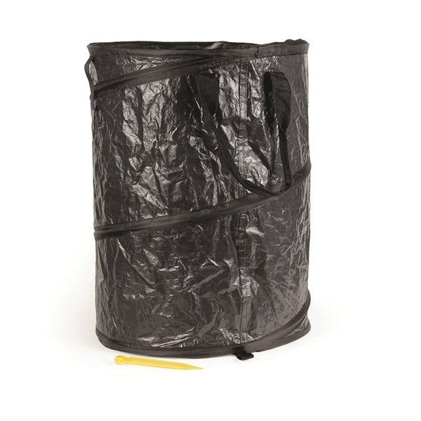 Picture of CAMCO 42893 Utility Container, Black, 24 in H, 18 in Dia