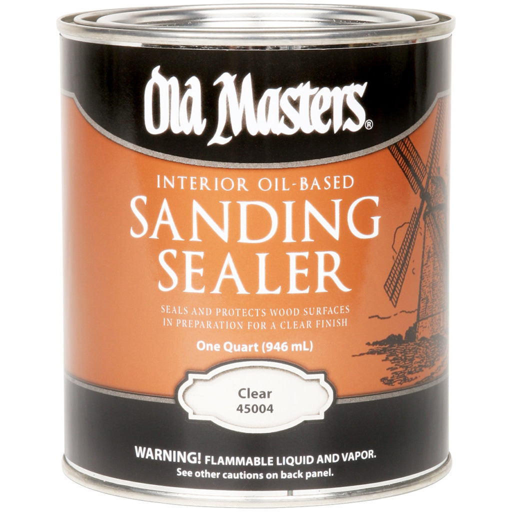 Picture of Old Masters 45001 Sanding Sealer, Clear, Liquid, 1 gal, Canister