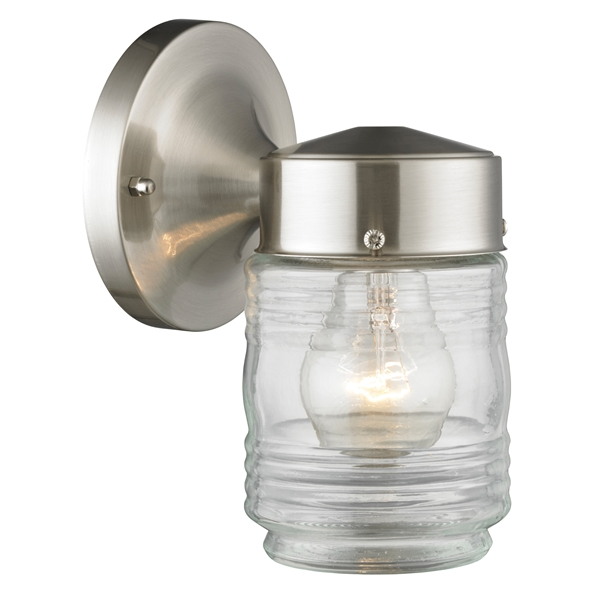 Picture of Boston Harbor 4402H-BN Wall Light, Steel Fixture