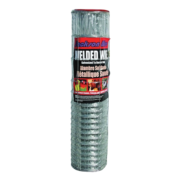 Picture of Jackson Wire 10177014 Rabbit Fence, 50 ft L, 28 in H, 16/14 Gauge, Galvanized