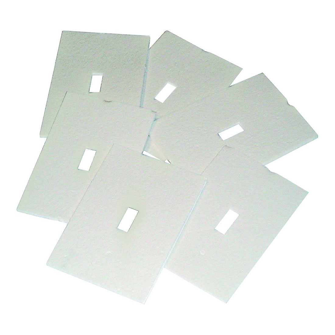Picture of Frost King OS6H Plate Sealer, 4 in L, 2-1/2 in W, Plastic Foam, White